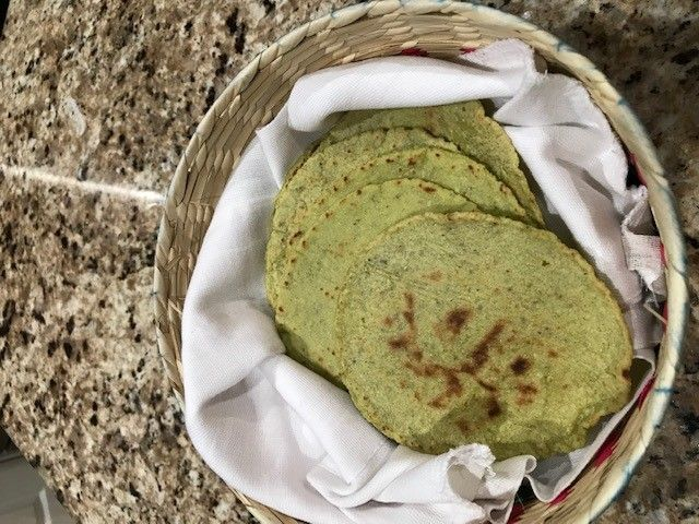 Green Tortillas