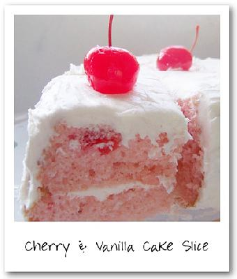 Cherry and Vanilla Cake