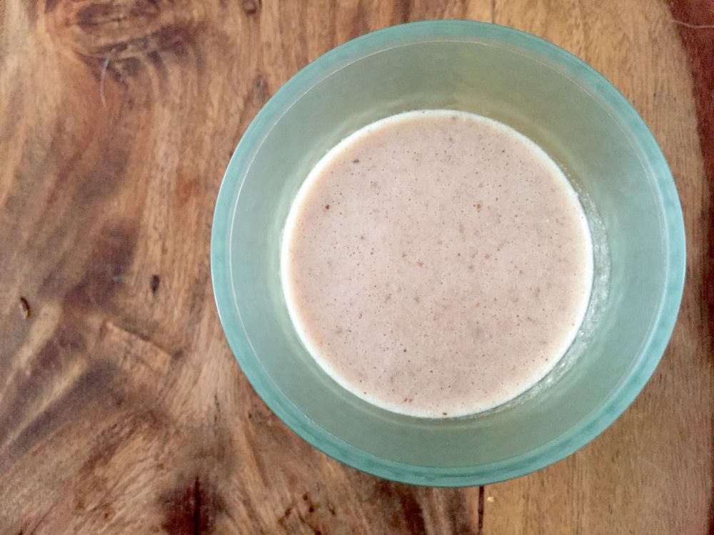 Banana french toast superseed smoothie