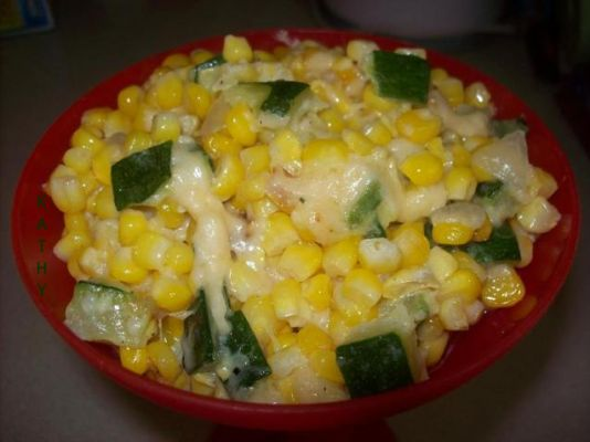 Caramelized Sweet Corn & Zucchini