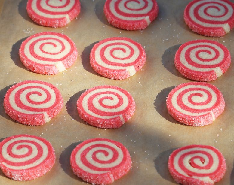 Nancy's Peppermint Swirl Cookies