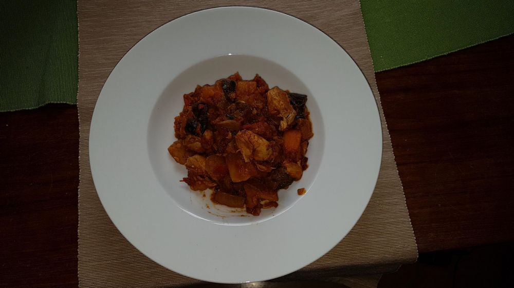 Gluten Free Chicken and Vegetable Curry