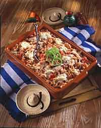 Mexican-Style Rice and Cheese