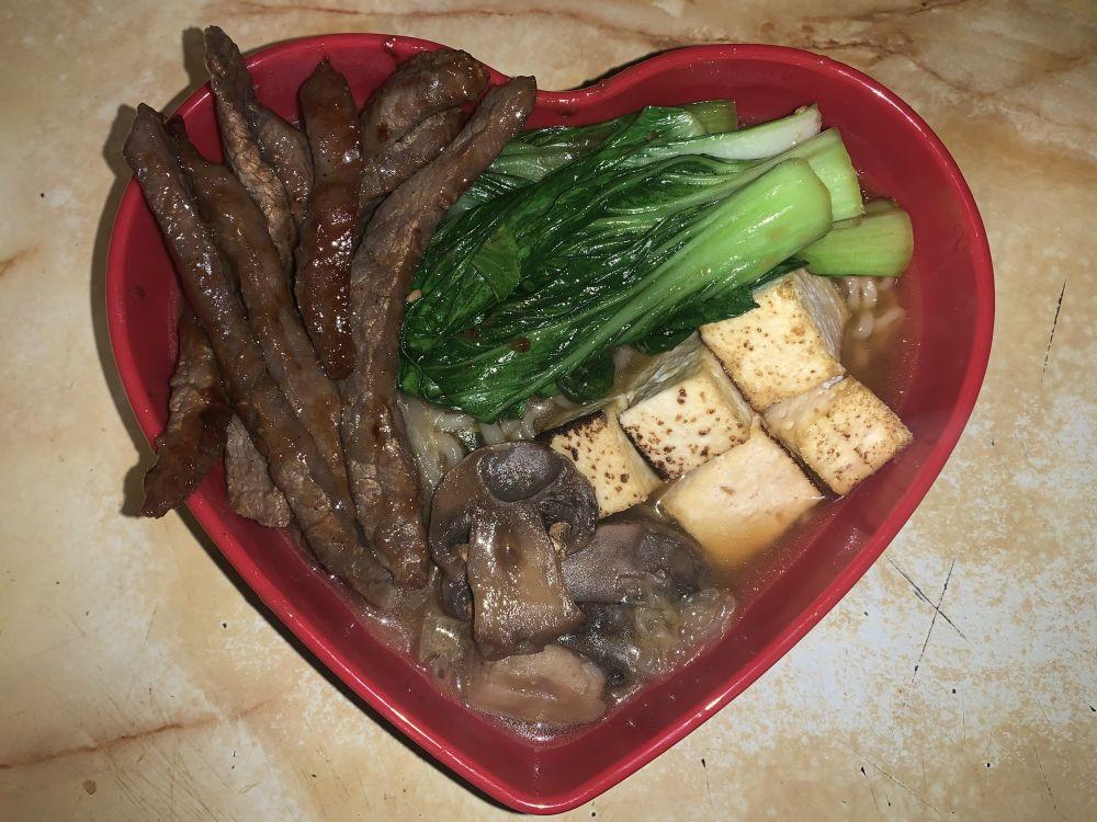 Korean Bulgogi and Ramen Soup on BakeSpace.com