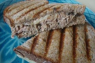 Roasted Pork and Mushroom Panini