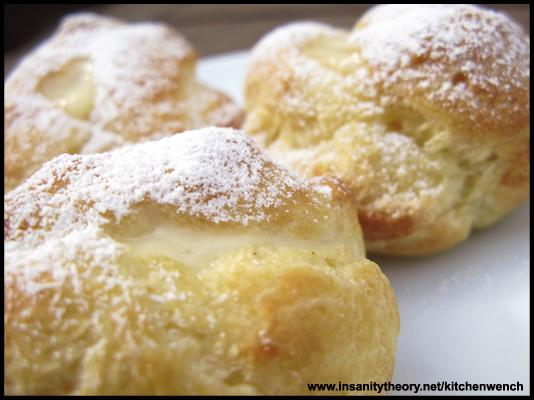 Pate A Choux (for profiteroles)