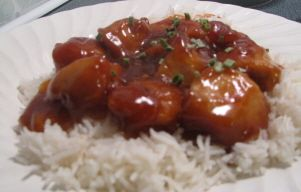 General Tsao's Chicken, My way