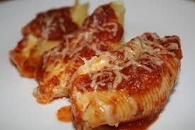 Stuffed Shells and Cheese