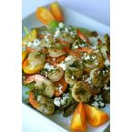 Grilled Pesto Shrimp and Veggie Salad