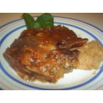 Applesauce Glazed Pork Chops