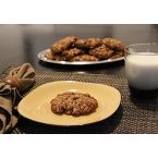 Gluten-free Chocolatey Oatmeal Raisin Cookies