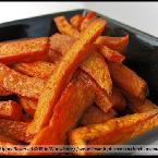 Soft Sweet Potato 'Fries'