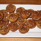 Le Cordon Bleu Pecan Tassies (one-bite Pecan Pies)