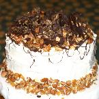 Image of Almond Praline Cake, Bakespace