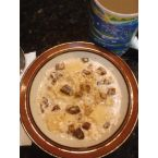 Easy and refreshing uncooked Oatmeal and Fruit