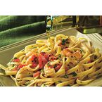 Fettuccine with Shrimp & Garlic