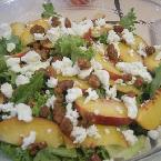 Fresh Juicy Peach Salad