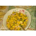 Shrimp and Mango Salsa
