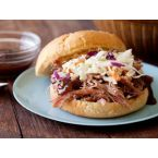 Paula Deen's North Carolina-Style Spicy Pulled Pork Sandwiches