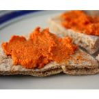 Syrian Roasted Red Pepper Dip (Muhammara)