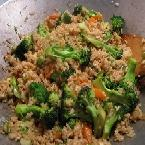 Zina's Vegetable Fried Rice