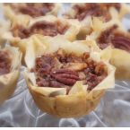 Apple Pecan Mini Pies with Brie Cheese