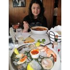 Cioppino in San Fran!  The best!