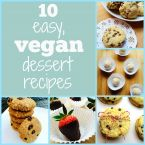 10 Easy, Vegan Dessert Recipes
