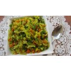 Cabbage Mixed Veg Stir-Fry
