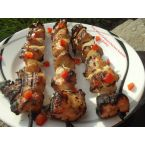 Key West Grilled Chicken Kebabs