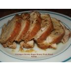 Crockpot Brown Sugar Honey Pork Roast