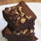 GLUTEN - FREE, DAIRY- FREE BLACK BEAN BROWNIES