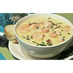 Sandra's Comforting New England Style Tri-Seafood Chowder