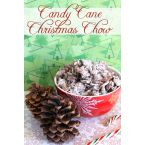 Candy Cane Christmas Chow