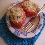 Parmesan and Ricotta Stuffed Tomatoes