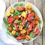 Heirloom Tomato Cornbread Salad