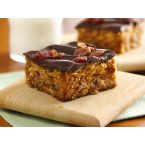 Betty Crocker Chocolate-Topped Peanut Butter-Bacon Bars