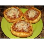 Favorite Spaghetti In Garlic Bread Bowls