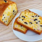 Cheese, Olive & Ham Bread