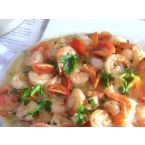Shrimp Scampi in Crazy Water