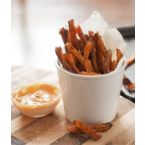 Oven Baked Sweet Potato Fries with Spicy Mayo