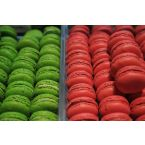 Sweat macaroons from this boutique of Christophe Rousel at the Hotel du Cadran