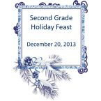 Second Grade Holiday Cookbook