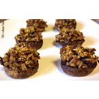 Wild Rice Stuffed Mushrooms