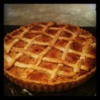 Woven Lattice Treacle Tart