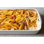 Al Forno's Penne with Tomato, Cream & Five Cheeses