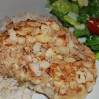 Image of Almond-crusted Chicken With Brown Rice, Bakespace