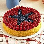 Star-Berry Picnic Cake