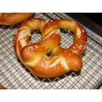 Soft Pretzels using lye