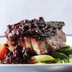 Blueberry Bourbon Sauce
